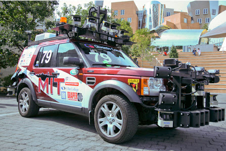 MIT's self-driving entry in the DARPA Urban Challenge