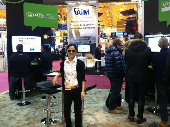 IMN booth at NADA 2014